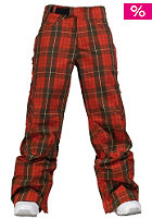 BURTON Womens AK Static Pant 2010 yarn dye plaid