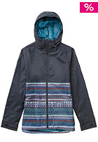 BURTON Womens Anthem Jacket cerulean woven strp