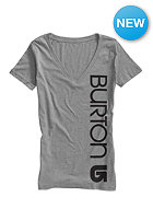 BURTON Womens Antidote V S/S T-Shirt gray heather