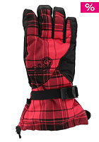 BURTON Womens Approach Glove hibiscus cherish plaid