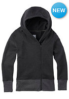 BURTON Womens Arbour Fleece Jacket true black heather