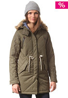BURTON Womens Barge Jacket olive night