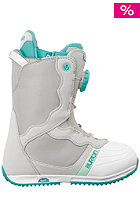 BURTON Womens Bootique Boot gray/white/teal