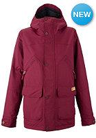 BURTON Womens Brighton Jacket sangria
