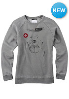 BURTON Womens Brtn Astor Crew Sweat gray heather