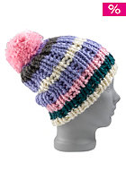 BURTON Womens Candy Stripe Beanie super nova