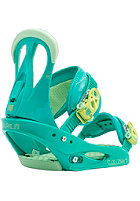 BURTON Womens Citizen Binding teal