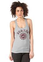 BURTON Womens CO-ED Retro S/S T-Shirt PEWTER