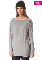 BURTON Womens Crimson Fleece Sweat monument heather
