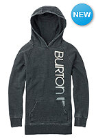 BURTON Womens CST Antidote Hooded Sweat true black heather