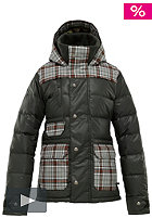 BURTON Womens Dandridge Down Jacket 2012 resin groupie plaid