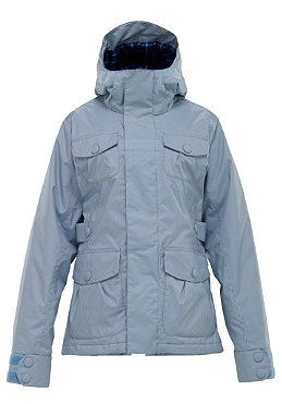 BURTON Womens Delirium Jacket 2012 blue pearl