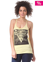 BURTON Womens Dimension FS Top heather mellow yellow