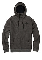 BURTON Womens Distill Hooded Sweat Jacket true black heather