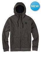 BURTON Womens Distill Hooded Sweat Jacket true black heather