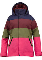 BURTON Womens Eclipse Jacket hot streak colorblk