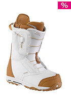 BURTON Womens Emerald Boot white/tan