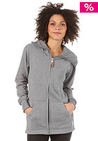 BURTON Womens Fleece Hangover Hooded Sweat gray heather