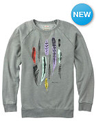 BURTON Womens Found Crew Sweat gray heather