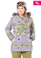 BURTON Womens GMP Eleanor Jacket ikat print