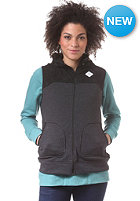 BURTON Womens Hale Vest Jacket true black heather