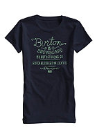 BURTON Womens Handscript S/S T-Shirt eclipse