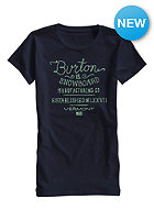 BURTON Womens Handscript S/S T-Shirt eclipse