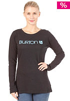 BURTON Womens Her Logo L/S Shirt true black