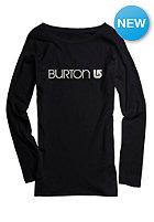 BURTON Womens Her Logo Longsleeve true black