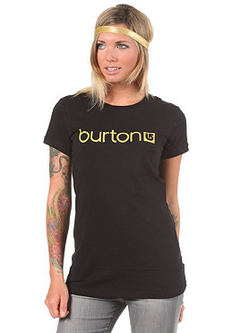 BURTON Womens Her Logo S/S T-Shirt true black