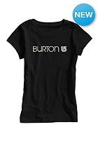BURTON Womens Her Logo S/S T-Shirt true black