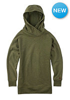 BURTON Womens Hixon Hooded Sweat silt heather