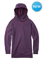 BURTON Womens Hixon Hooded Sweat zinfandel heather