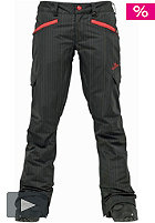 BURTON Womens Indulgence Pant 2012 true black pin print