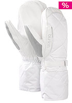 BURTON Womens Insulator Mitt Glove bright white