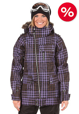 BURTON Womens Joplin Jacket true black grunge plaid