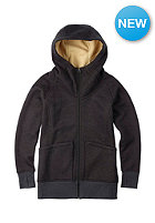 BURTON Womens Journey Flc Jacket true black heather