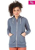 BURTON Womens Lark Hooded Sweat TEAM BLUE HEATHER