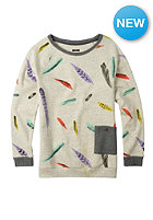 BURTON Womens Lexxon Sweat vanilla hthr feather