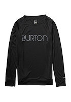 BURTON Womens Lightweight Crew Longsleeve true black