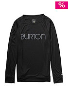 BURTON Womens Lightweight Crew true black