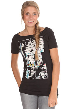 BURTON Womens Machine S/S T-Shirt true black
