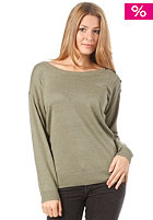 BURTON Womens Madrona Knit Sweat heather weeds