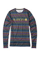 BURTON Womens Midwight Crew Longsleeve fun fair