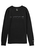 BURTON Womens Midwight Crew Shirt true black