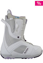 BURTON Womens Mint Boot 2012 white/gray/purple