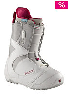 BURTON Womens Mint Boot 2013 white/gray/pink