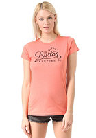 BURTON Womens Mountain Script fresh salmon