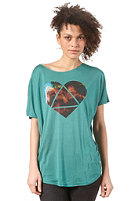 BURTON Womens Mystic FT S/S T-Shirt TIDAL BORE