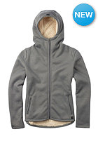 BURTON Womens Negani Sherpa Jacket dark ash heather